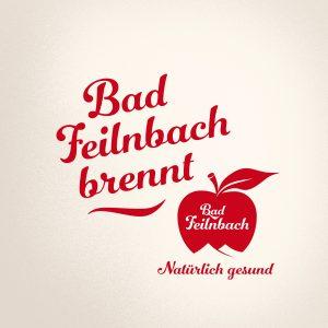 """Schriftzug """"Bad Feilnbach brennt"""""""